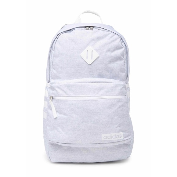 Adidas Classic 3S III Backpack in Jersey White